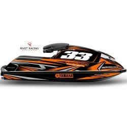 Kit Déco pour jet à bras Superjet Orange