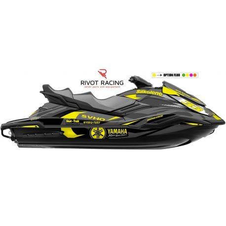 Kit Déco pour jet ski Yamaha FX Gris & Jaune
