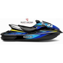 Kit Déco pour Kawasaki Ultra 160/250/260 Bleu