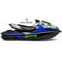 Kit Déco Race pour Ultra 160/250/260 Bleu