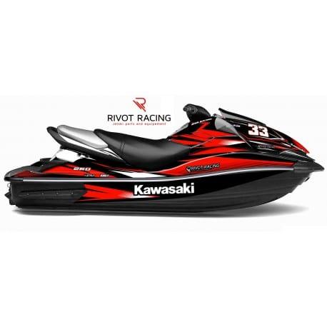 Kit Déco Race pour Ultra 160/250/260 Rouge