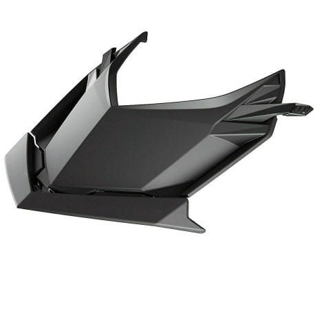 Black, Front Deflector Kit. Package Convenience