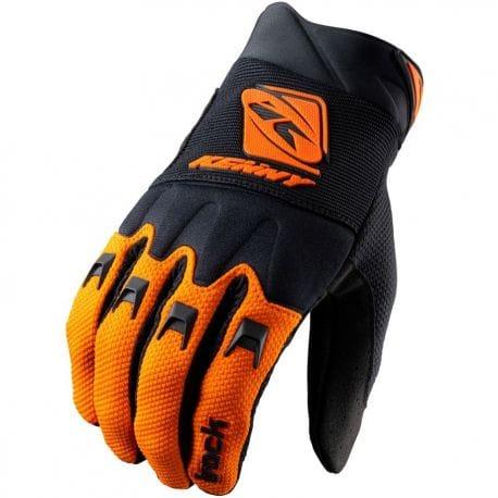 Gants KENNY Track Orange et Noir
