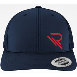 Casquette RIVOT Racing brodé Navy & Red