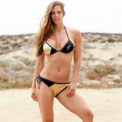 Maillot Bikini Femme JETTRIBE Métallic Or
