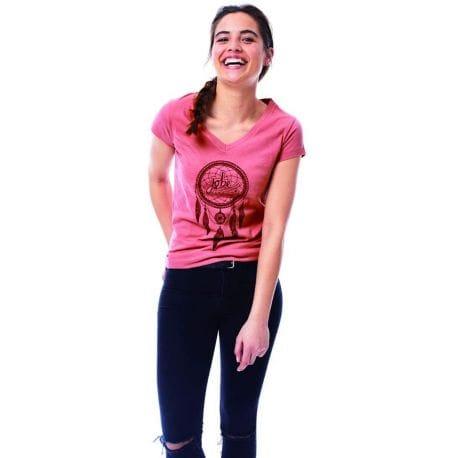 T-shirt Femme JOBE Rose