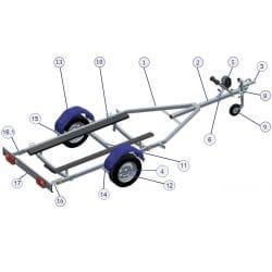 Pièces détachées Galaxy pour Spark/SXR/SJ TR1