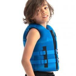 Gilet de sauvetage enfant JOBE Néoprène Bleu