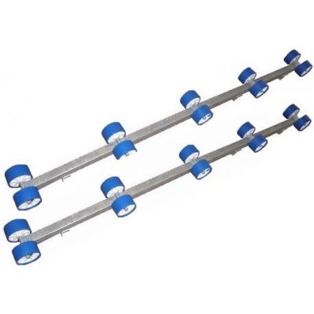 Rampe à rouleaux CBS pour remorque double Rampes par 2