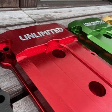Couvre culasse taillé masse pour Kawasaki 4T Rouge