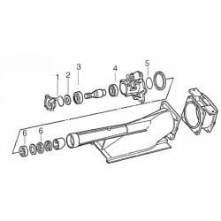 kit réparation passe coque yamaha 500, WR III et 650 de 90-93