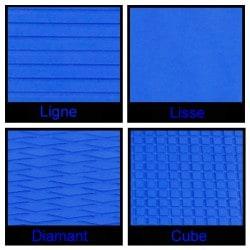 Rouleau de 1m x 1.50m bleu royale