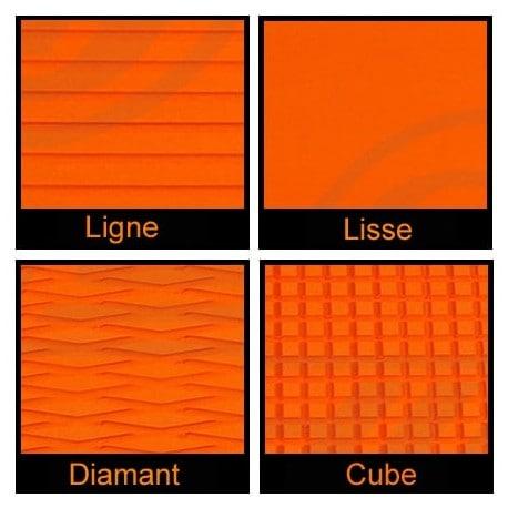 Rouleau de 1m x 1.50m orange