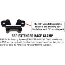 Support inferieur élargie pour platine RRP