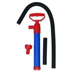 Pompe à main pour évacuer l'eau en fond de cale