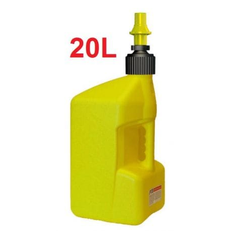 Bidon d'essence TUFF JUG jaune 20 Litres