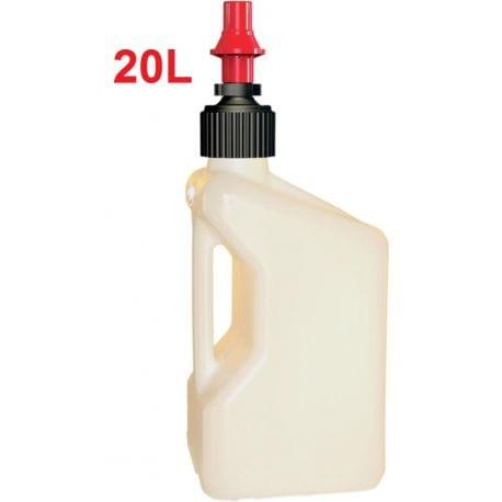 Bidon d'essence TUFF JUG blanc 20 Litres