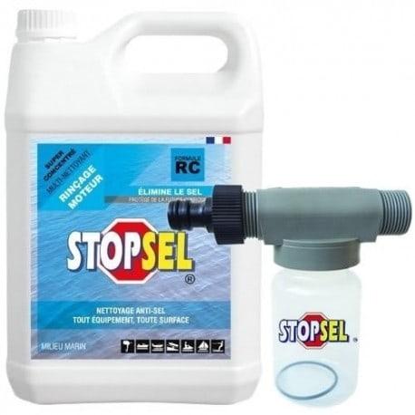 Stopsel 5 litres (vendu seul ou avec auto-mélangeur) Bidon 5L + mélangeur 125ml