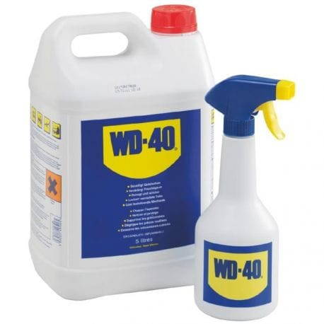WD40 5 litres (vendu avec ou sans pulvérisateur) 5L + pulvérisateur