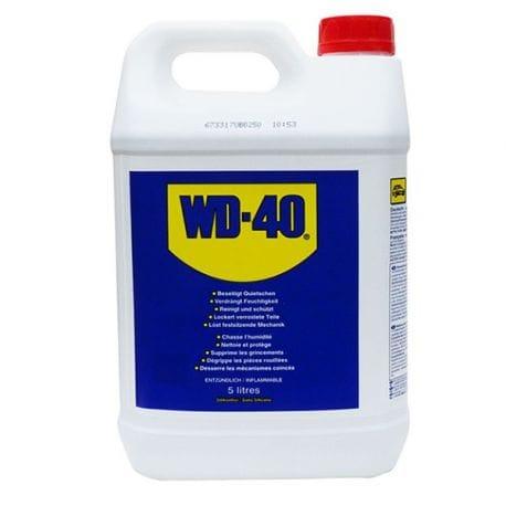 WD40 5 litres (vendu avec ou sans pulvérisateur)