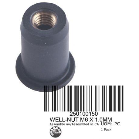 WELL-NUT M6 X 1.0MM