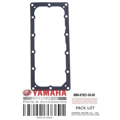 Yamaha 6M6-81921-00-00 Gasket Terminal; 6M6819210000 Made by Yamaha