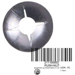 ECROU PRESSION, PUSH-NUT, 211100002