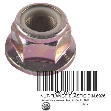 NUT-FLANGE ELASTIC DIN.6926