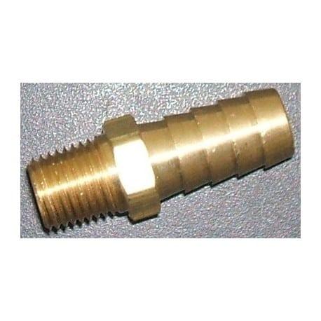 Insert laiton droit pour durite d'eau 1/2'''' (12mm)