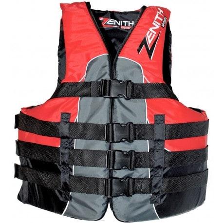 Gilet de sauvetage ZENITH 50N Nylon Rouge