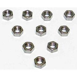 Écrous inoxydable de 5mm à 10mm (pack de 10)