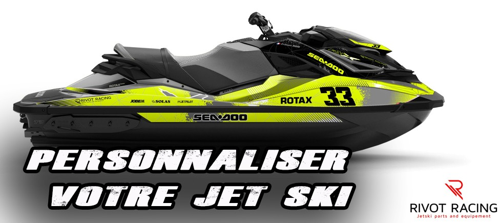 Kit decoration stickers for jet ski Seadoo RXP
