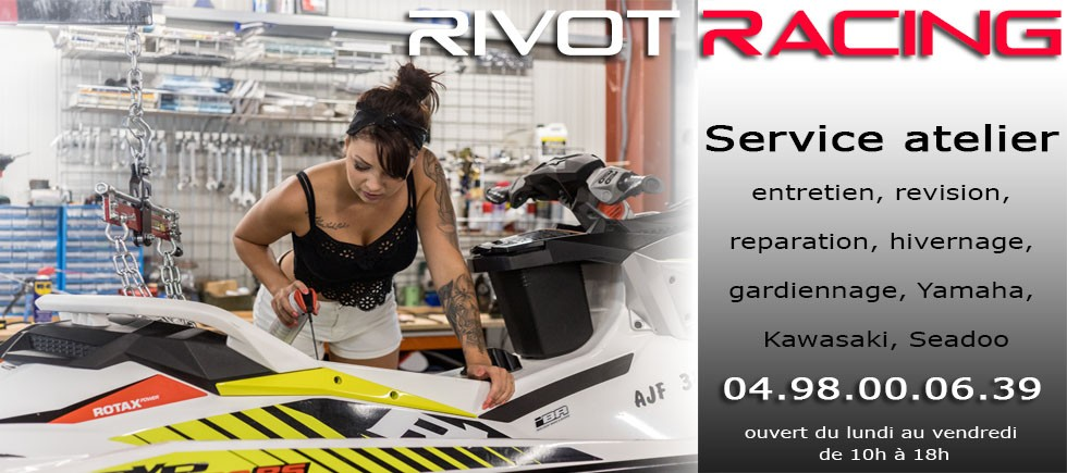 RIVOT Racing - Workshop Service for jet ski Yamaha - Kawasaki - Seadoo