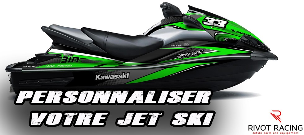 Decoration Kit Stickers for Kawasaki Ultra